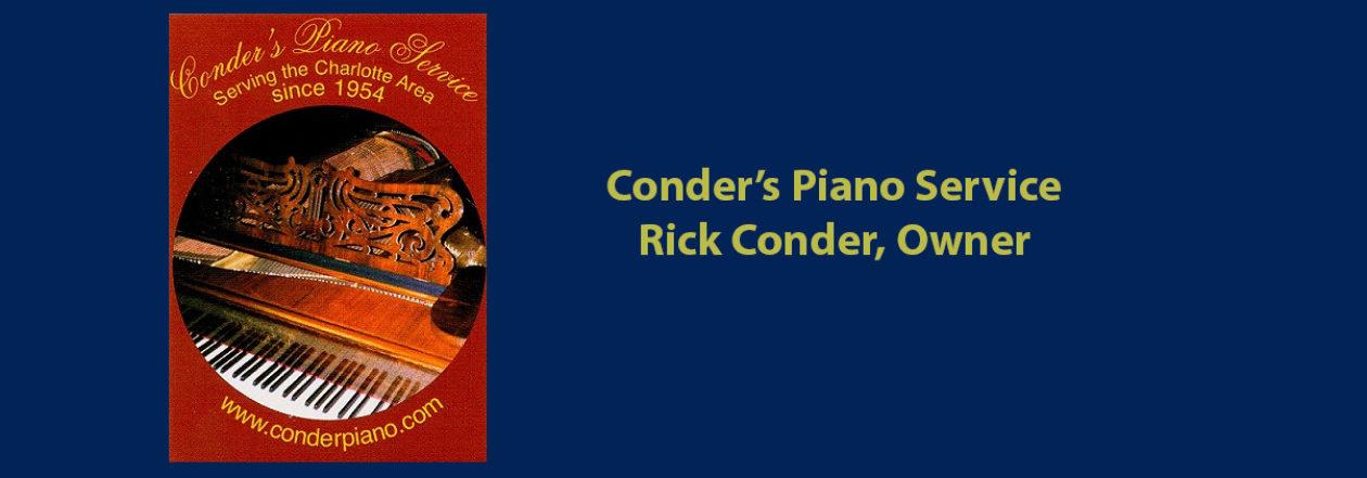 Conder's Piano Service